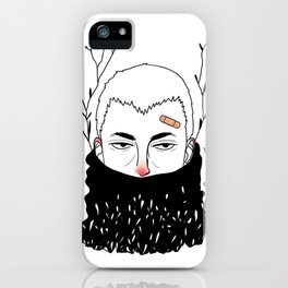 Cold Days iPhone Case