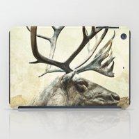 reindeer iPad Cases featuring Reindeer by ZenaZero
