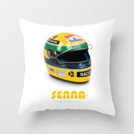 Senna - Alternative Movie Poster Throw Pillow