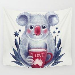 I♥Australia Wall Tapestry