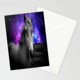 Horse Rides & Galaxy Skies Stationery Cards