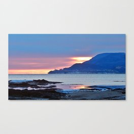 Sunrise in Tourelle Canvas Print
