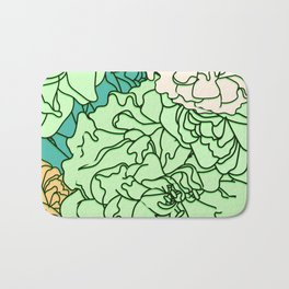 Tender Roses 2 Bath Mat