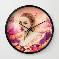 iggy Wall Clocks featuring IGGY by Share_Shop