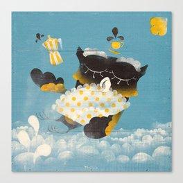 Corujitear (to owl) - Rodrigo Troitiño Canvas Print