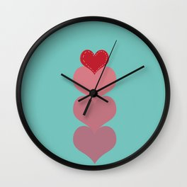 Love you more than... Wall Clock