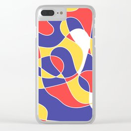artwork Clear iPhone Case