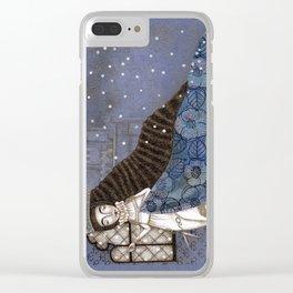 Schneewittchen-The Queen's Wish Clear iPhone Case