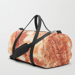 Marble Flow - Rust Orange Duffle Bag