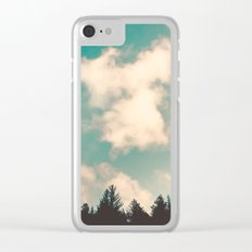 Summer Sky Clear iPhone Case