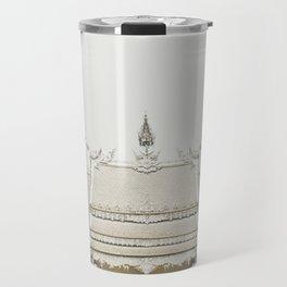 White temple, Thailand Travel Mug