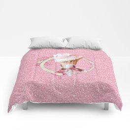 Pink Sugar Icecream Cone Comforters