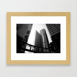 Hong Kong Architecture Framed Art Print