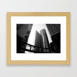 Hong Kong Architecture Framed Art Print