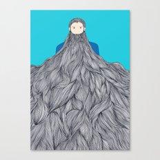 SuperBeard Canvas Print