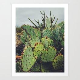 Dark Desert I Art Print