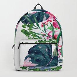 Tropical Plants Backpack
