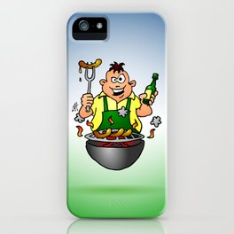 BBQ - Grill iPhone Case