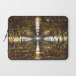 Amber Tunnel Laptop Sleeve