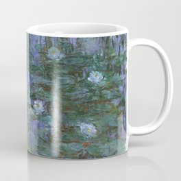 1916-Claude Monet- Blue Water Lilies-200 x 200 Coffee Mug
