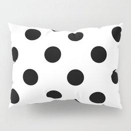 Polkadot (Black & White Pattern) Pillow Sham