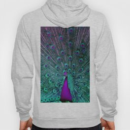 BLOOMING PEACOCK Hoody