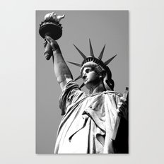 Miss Liberty Canvas Print