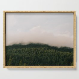 Forest Fog Serving Tray