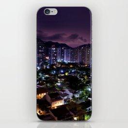 Purple Rio iPhone Skin