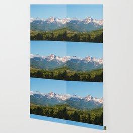 Sunny Mountain Summer Wallpaper