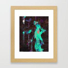 The Traveller. Framed Art Print