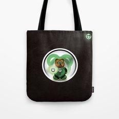 Super Bears - the Green One Tote Bag