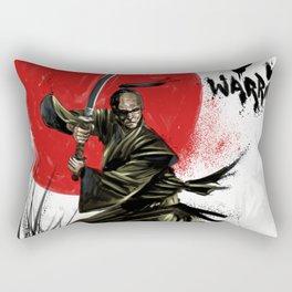 Samurai Warrior Rectangular Pillow