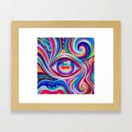 Eye Love You Framed Art Print