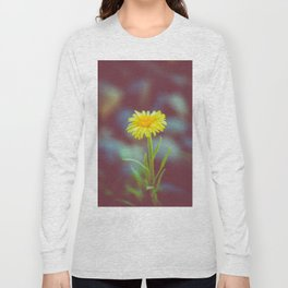 yellow bloom Long Sleeve T-shirt