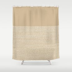 Riverside - Sand Shower Curtain