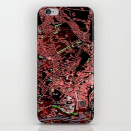 Bristol (glitch) iPhone Skin