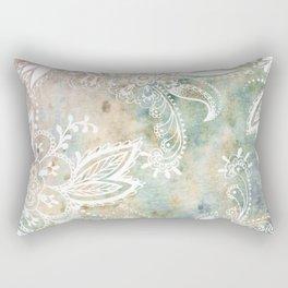 Paisley Earth Rectangular Pillow
