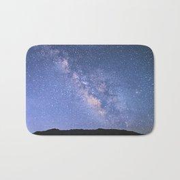 Milky Way Mountain  Bath Mat