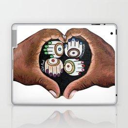 K'AL: Raise up: Black and Indigenous Lives by Musah Swallah & Frida Larios Laptop & iPad Skin