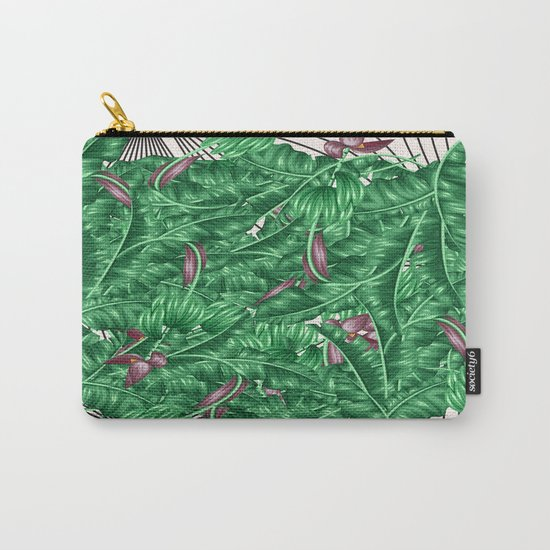tropical nature Carry-All Pouch