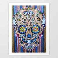 Smiling Diamond  Art Print