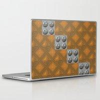 techno Laptop & iPad Skins featuring Techno by Karl-Heinz Lüpke