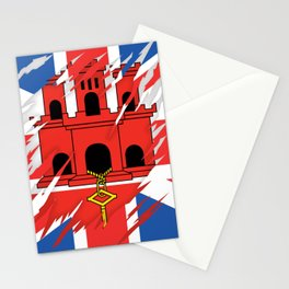 Gib_Britain Flag Stationery Cards