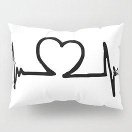 Heartbeat Pillow Sham
