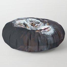 Chimpanzee: One Survivor Floor Pillow