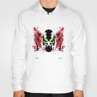 spawn Hoodies featuring Rorschach Spawn | Textured by Normal-Sized Deet