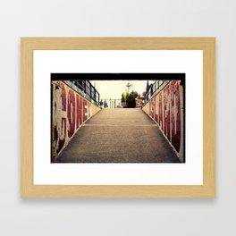 Under the Wheel Framed Art Print