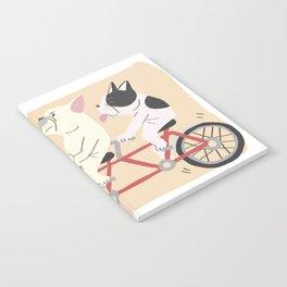 tandem bike Notebook