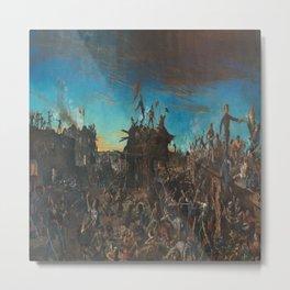 Henry Arthur McArdle's Dawn at the Alamo Metal Print